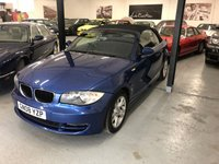 2008 BMW 1 SERIES 2.0 118I SE 2d CONVERTIBLE MOT, SERVICE HISTORY, CAM/CHAIN/BELT DONE,VGC £4395.00