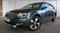 USED 2016 16 SKODA OCTAVIA 2.0TDi SCOUT 4x4 DSG AUTO ESTATE 184 BHP  Finance? No deposit required and decision in minutes.