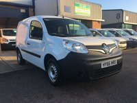 2016 RENAULT KANGOO 1.5 ML19 BUSINESS DCI 1d 89 BHP £6795.00