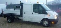 2014 FORD TRANSIT TIPPER CREW CAB 2.2 350 DRW 1d 99 BHP £8999.00