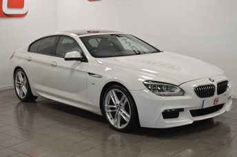 2013 BMW 6 SERIES 3.0 640D M SPORT GRAN COUPE 4d AUTO 309 BHP £19995.00