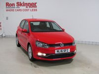 USED 2016 16 VOLKSWAGEN POLO 1.0 SE 5d 60 BHP