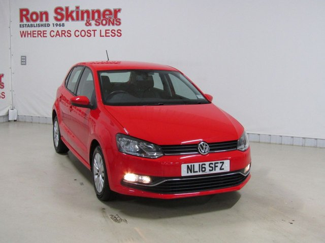 View our 2016 16 VOLKSWAGEN POLO 1.0 SE 5d 60 BHP