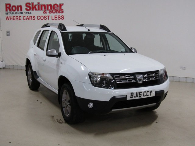 View our 2016 16 DACIA DUSTER 1.5 LAUREATE DCI 5d 109 BHP