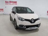 USED 2015 65 RENAULT CAPTUR 1.5 SIGNATURE NAV DCI 5d 90 BHP with Black Roof