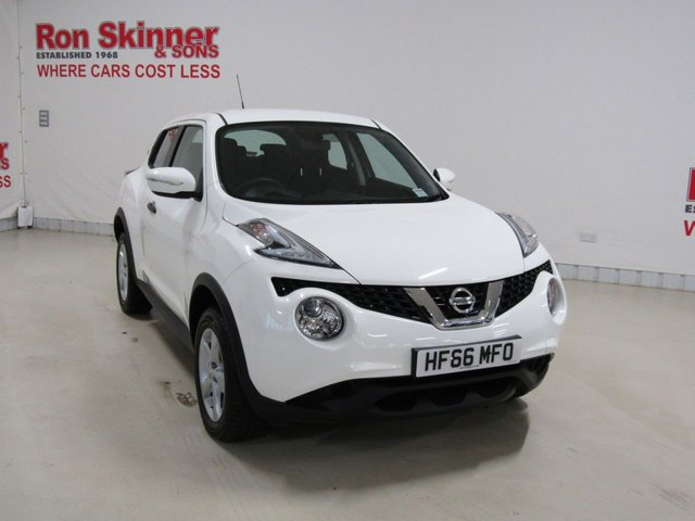 View our 2016 66 NISSAN JUKE (128)      1.6 VISIA 5d 94 BHP