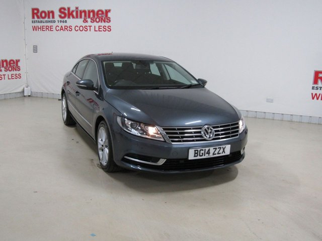 View our 2014 14 VOLKSWAGEN CC 2.0 TDI BLUEMOTION TECHNOLOGY 4d 138 BHP