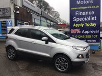 USED 2015 65 FORD ECOSPORT 1.5 TITANIUM TDCI 5d 88 BHP, only 17000 miles, 1 Owner ***GREAT FINANCE DEALS AVAILABLE***