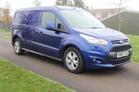 USED 2015 65 FORD TRANSIT CONNECT 1.6 240 LIMITED P/V 1d 114 BHP Beautiful Colour, - LIMITED. Long wheel base !