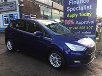 USED 2015 65 FORD C-MAX 1.5 ZETEC TDCI 5d 118 BHP, only 5000 miles, 1 Owner ***GREAT FINANCE DEALS AVAILABLE***