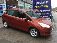 USED 2015 65 FORD B-MAX 1.5 ZETEC TDCI 5d 94 BHP, only 23000 miles, 1 Owner ***APPROVED DEALER FOR CAR FINANCE247 AND ZUTO  ***