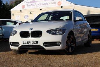 2014 BMW 1 SERIES 1.6 116I SPORT 3d AUTO 135 BHP £13450.00