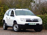 USED 2013 13 DACIA DUSTER 1.6 ACCESS 5d 105 BHP SERVICE HISTORY, LONG MOT