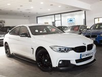 USED 2015 65 BMW 4 SERIES 2.0 420I XDRIVE M SPORT GRAN COUPE 4d AUTO 181 BHP M PERFORMANCE STYLING+X-DRIVE
