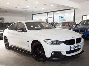 2015 BMW 4 SERIES 2.0 420I XDRIVE M SPORT GRAN COUPE 4d AUTO 181 BHP £20990.00