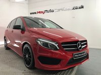 USED 2016 16 MERCEDES-BENZ B-CLASS 2.1 B 200 D AMG LINE PREMIUM PLUS 5d AUTO 134 BHP *PAN ROOF* *** PAN ROOF & REVERSING CAMERA ***