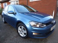 2014 VOLKSWAGEN GOLF 1.4 MATCH TSI BLUEMOTION TECHNOLOGY 5d 120 BHP £10000.00