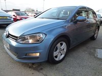 USED 2014 64 VOLKSWAGEN GOLF 1.4 MATCH TSI BLUEMOTION TECHNOLOGY 5d 120 BHP Lovely Specification Golf, Has The Media Plus, & Spare Wheel Options, Very Nice Condition Car