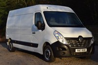 2017 RENAULT MASTER 2.3 LM35 BUSINESS ENERGY DCI S/R P/V  110 BHP £11450.00