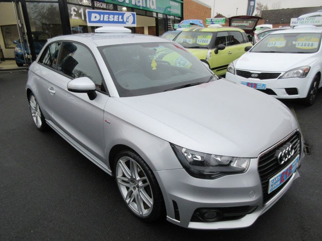 USED 2011 11 AUDI A1 1.6 TDI S LINE 3d 103 BHP BUY NOW PAY NEXT YEAR...NO DEPOSIT FINANCE DEALS