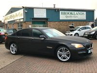 2012 BMW 7 SERIES 3.0 730D M SPORT 4d 242 BHP Sophisto Grey Xirall With Dakota Black Leather  £15995.00