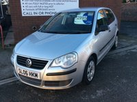 USED 2006 06 VOLKSWAGEN POLO 1.2 E 5d 54 BHP **ZERO DEPOSIT FINANCE AVAILABLE** PART EXCHANGE WELCOME