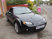 USED 2006 56 MAZDA MX-5 2.0 SPORT 2d 160 BHP REMOVABLE HARD TOP, AC, LEATHER. DEALER PX TO CLEAR.