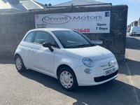 USED 2013 13 FIAT 500 1.2 POP 3d 69 BHP FINANCE AVAILABLE+SERVICE HISTORY+LOW INSURANCE COSTS