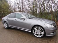 2011 MERCEDES-BENZ S CLASS 3.0 S350 BLUETEC AMG SPORTS PACK 4d AUTO 258 BHP £15995.00