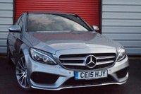 2015 MERCEDES-BENZ C CLASS 2.1 C220 BLUETEC AMG LINE 4d AUTO 170 BHP £18495.00