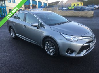 2016 TOYOTA AVENSIS 1.6 D-4D BUSINESS EDITION 4d 110 BHP £11650.00
