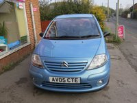 USED 2005 05 CITROEN C3 1.4 SX 5d AUTO 73 BHP AUTOMATIC VERY LOW MILEAGE FINANCE ME TODAY-UK DELIVERY POSSIBLE