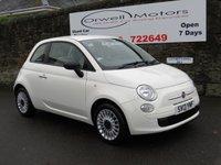 2013 FIAT 500 1.2 POP 3d 69 BHP £4895.00