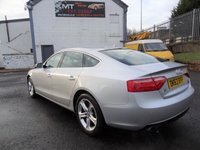 USED 2013 63 AUDI A5 2.0 SPORTBACK TDI QUATTRO SE TECHNIK 5d AUTO 175 BHP 3 Month National Warranty - MOT  September 2019 Service History