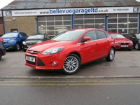 2014 FORD FOCUS 1.0 ZETEC 5d 99 BHP £SOLD