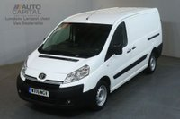 USED 2016 16 TOYOTA PROACE 2.0 L2H1 HDI 1200 6d 127 BHP LWB AIR CON VAN FRONT FOG AIR CONDITIONING