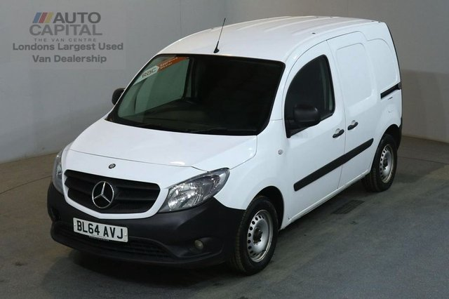 2014 64 MERCEDES-BENZ CITAN 1.5 109 CDI 6d 90 BHP LWB DIESEL MANUAL VAN ONE OWNER S/H SPARE KEY