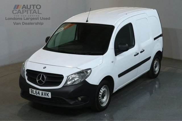 2014 64 MERCEDES-BENZ CITAN 1.5 109 CDI 90 BHP 6d LWB TWIN SLIDING DOOR PANEL VAN ONE OWNER FULL S/H SPARE KEY