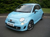 USED 2014 14 ABARTH 500 1.4 ABARTH 3d 135 BHP DEMO Plus One Careful Lady Owner From New,  JUST 20,000 Miles with Full Service History, Eye Catching Pocket Rocket!!!
