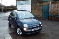 USED 2015 65 FIAT 500 1.2 POP STAR 3d 69 BHP One Owner Only £20 Road Tax