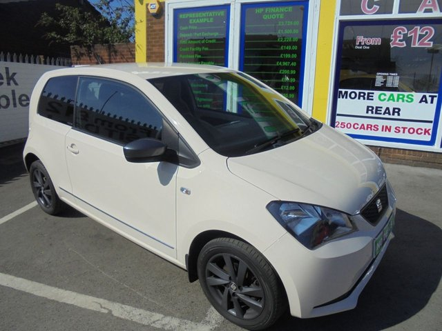 USED 2014 64 SEAT MII 1.0 MII BY MANGO 3d 74 BHP £20 A YEAR ROAD TAX....£0 DEPOSIT FINANCE DEAL AVAILABLE....LOW INSURANCE GROUP