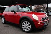 2002 MINI HATCH ONE 1.6 ONE 3d 89 BHP £1990.00