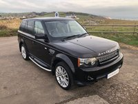 USED 2012 12 LAND ROVER RANGE ROVER SPORT 3.0 SDV6 HSE 5d AUTO 255 BHP Very Low Miles