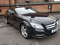 2011 MERCEDES-BENZ CLS CLASS 3.0 CLS350 CDI BLUEEFFICIENCY 4d AUTO 265 BHP £SOLD