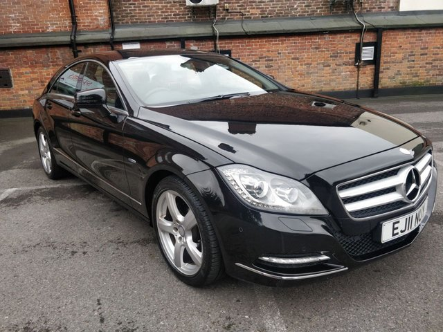 2011 11 MERCEDES-BENZ CLS CLASS 3.0 CLS350 CDI BLUEEFFICIENCY 4d AUTO 265 BHP