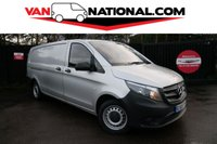 2015 MERCEDES-BENZ VITO 2.1 114 BLUETEC 136 BHP AUTOMATIC EXTRA LONG WHEEL BASE £16990.00