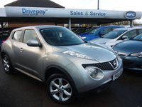 USED 2011 61 NISSAN JUKE 1.6 ACENTA 5d 117 BHP NEED FINANCE? WE CAN HELP