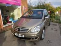 USED 2008 57 MERCEDES-BENZ B CLASS 2.0 B200 SE 5d AUTO 135 BHP AUTOMATIC LOW MILEAGE, MANY EXTRAS.FINANCE ME TODAY-UK DELIVERY POSSIBLE