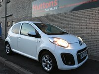 USED 2012 62 CITROEN C1 1.0 VTR PLUS 5d 67 BHP
