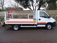 2012 IVECO DAILY 3.0 50C17 1d 170 BHP MWB DROPSIDE WITH REAR MOUNTED CRANE £14995.00